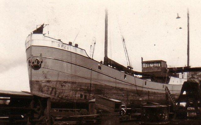 onbekend schip in delfzijl