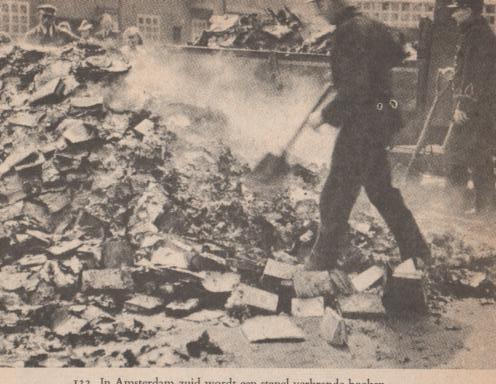 eerste oorlogsdagen mei 1940